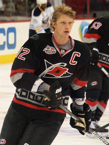 Eric Staal NHL Carolina Hurricanes