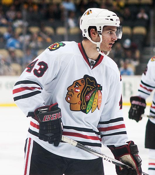 Brandon Saad NHL Chicago Blackhawks