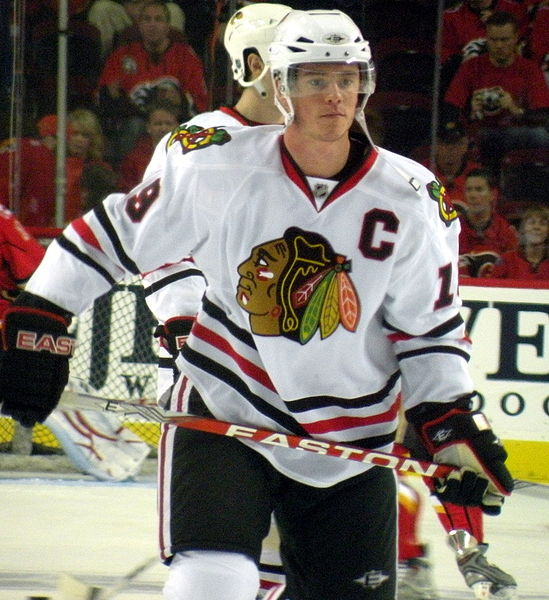 Jonathan Toews NHL Chicago Blackhawks