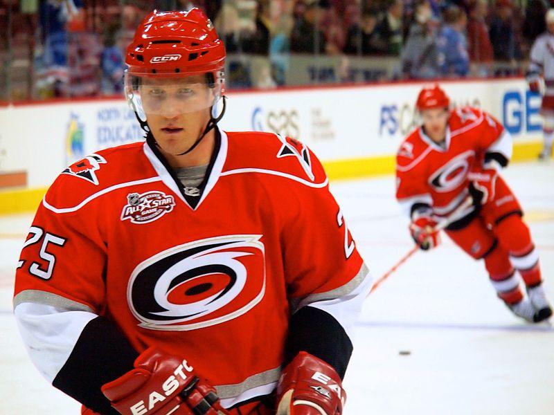 Joni Pitkanen NHL Carolina Hurricanes