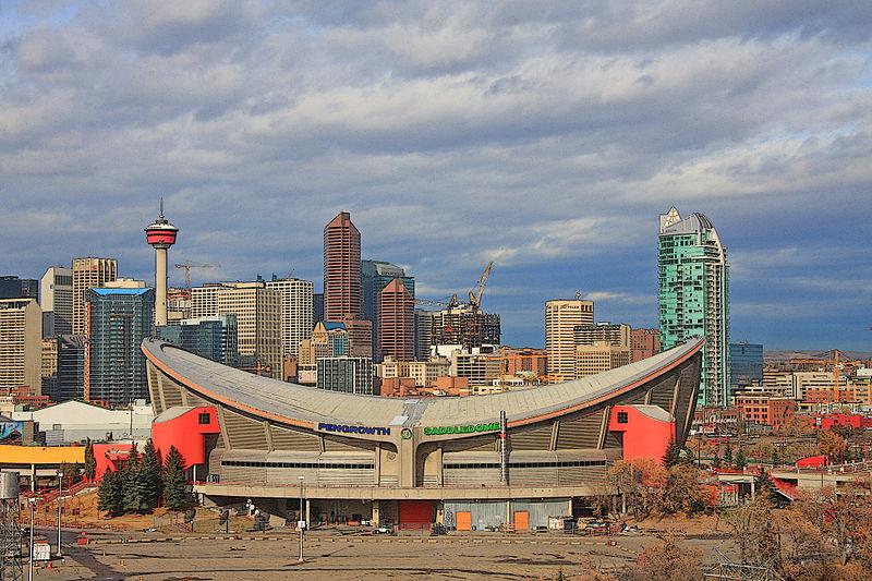 The Saddledome, Calgary