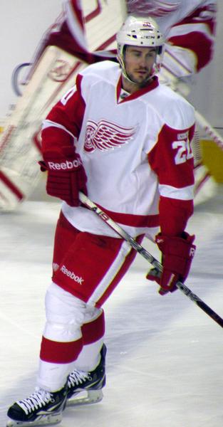Drew Miller NHL Red Wings
