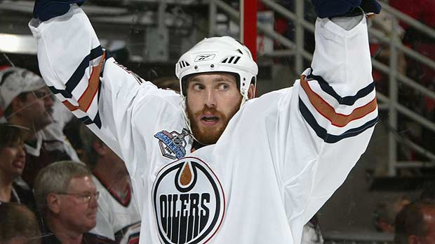 The 2006 edition of Fernando Pisani would be a God-send to the current Oilers.  Image courtesy CBC.ca.