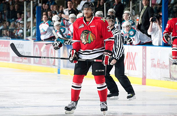 Seth Jones of the Portland Winterhawks. Image courtesy of fullscalesports.com.