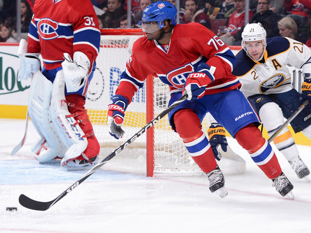 PK Subban looks up ice.  Image courtesy of nationalpost.com.