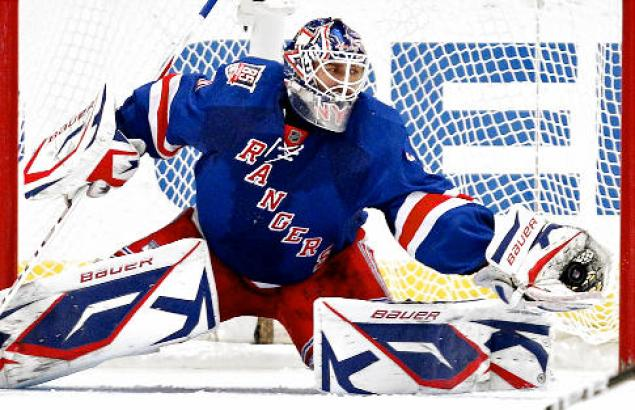 Henrik Lundqvist strengthens his claim for being the NHL's best goaltender.  (Courtesy of nydailynews.com)