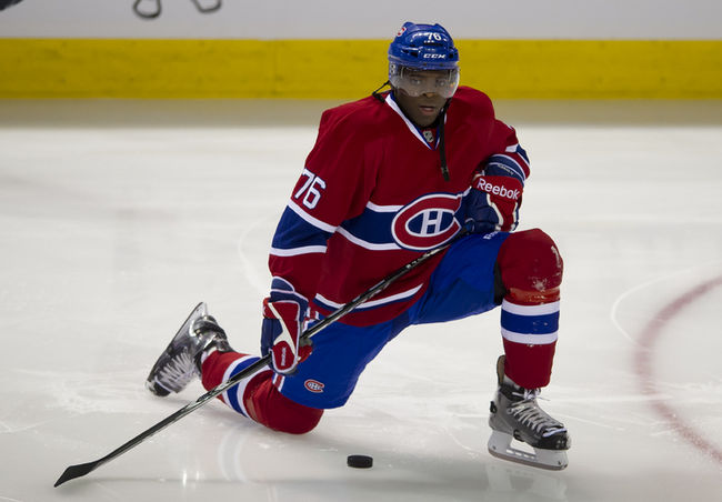 P.K. Subban finished the season as joint leading defenceman in total points. (Courtesy of torontosun.com)