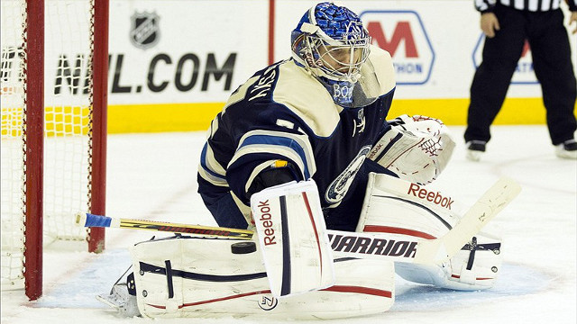 Sergei Bobrovsky has been a revelation for the Columbus Blue Jackets.  (Courtesy of articles.philly.com)