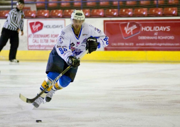 The Raiders lost import player Juraj Huska to the Invicta Dynamos after they were stranded without a home arena. (Courtesy of romfordrecorder.co.uk)