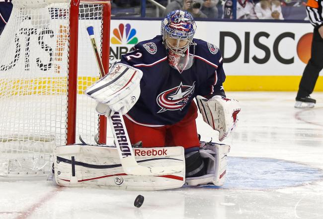 Can Sergei Bobrovsky reproduce his Vezina-winning form next season and lead the Blue Jackets to the playoffs?  (Courtesy of bleacherreport.com)