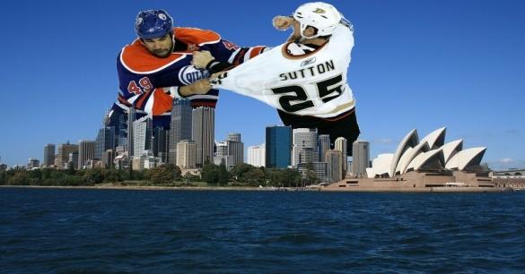 NHL Fight Sydney