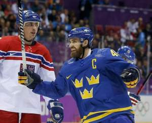 Sweden have coped following the injury to Henrik Zetterberg. (Image courtesy of detroitnews.com.)