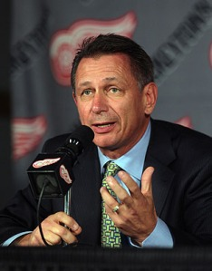 Red Wings' GM Ken Holland might have big decisions to make when summer rolls around. (Image courtesy of sports.yahoo.com)